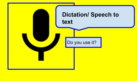 Have Your Say With Dictation Technologies