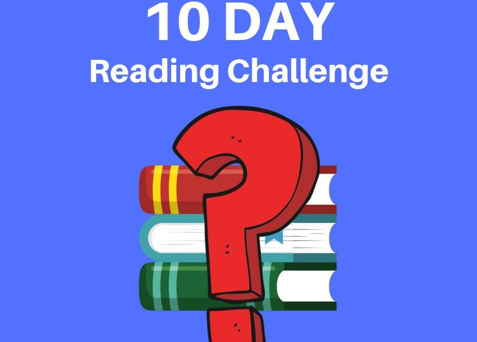 10 Day Tech-Savvy Reading Challenge